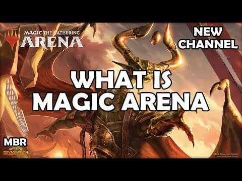Magic Arena | What is it? | More On My New Channel?