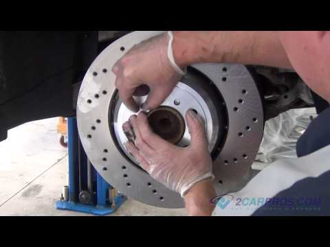 Front Brake Pads & Rotor Replacement BMW M3 2007-2013