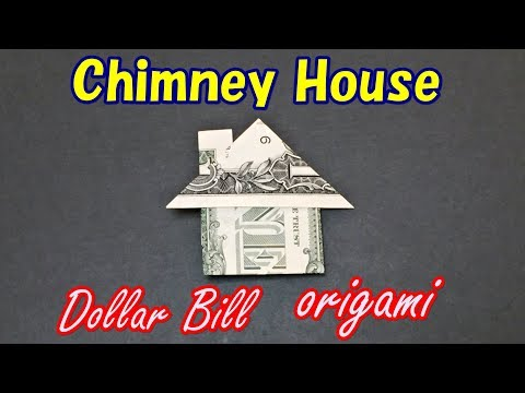 Easy Money Origami for Beginners | How to Make a House from 1 Dollar Bill | Moneygami House