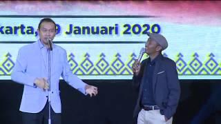 Aslii Ngakaakk.. Stand Up Cak Lontong@RAPIM POLRI 2020