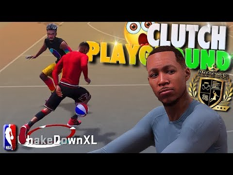 SLASHING PLAYMAKER Is CLUTCH At The PLAYGROUND - NBA 2K18 3v3