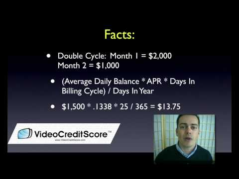 Double Cycle Billing for Credit Cards - Episode #113
