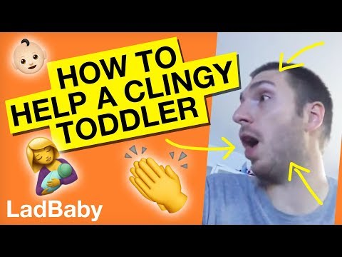 How to cope with a clingy toddler when mummy's out