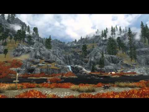 Skyrim Timelapse - World View Clock Skyrim Edition