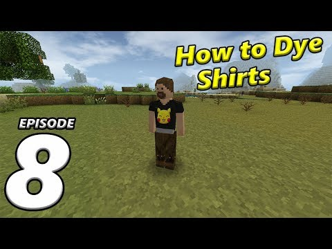Survival Craft 2 Episode 8 | How to Dye Shirts