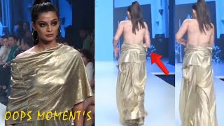 OOPS MOMENT AT || FASHION SHOW