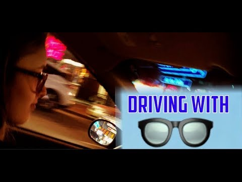 What Driving With Glasses Is Like
