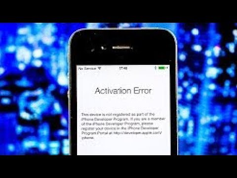 iPhone Activation Server Could Not Be Reached/ Sim Not Supported | Simple Fix | 2017 |