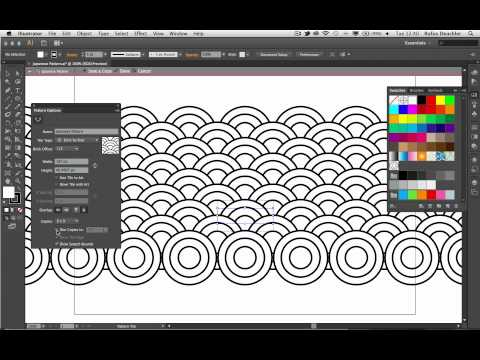 Create a Japanese Pattern with Adobe Illustrator CS6