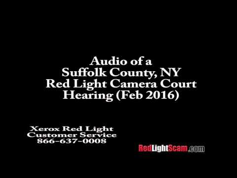 Red Light Camera Court in Suffolk County, NY