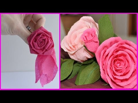 DIY Christmas decorations flowers with Paper | Paper Roses | DIY ROOM DECOR!