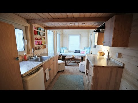 The Wild Rose - Amazing 24' Tiny House on Wheels Tour