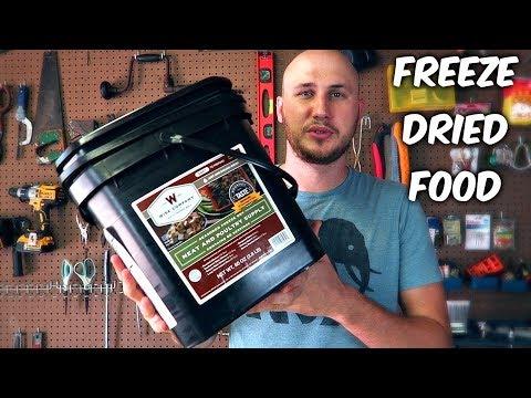 Survival Freeze Dried Food Taste Test