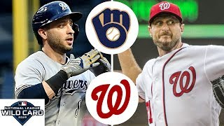 Milwaukee Brewers vs. Washington Nationals Highlights | NL Wild Card Game | October 1, 2019