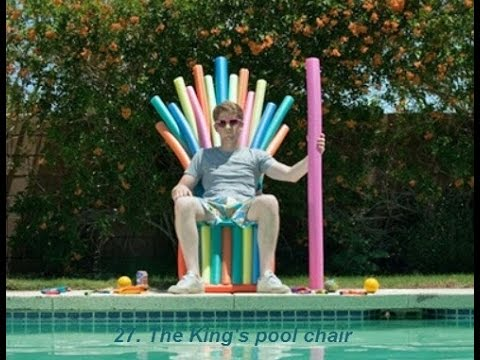 54 Things to make with pool noodles