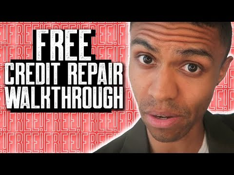 CREDIT REPAIR WALK THROUGH FREE || HOW TO REMOVE EVICTIONS FAST || SECTION 609 CREDIT REPAIR