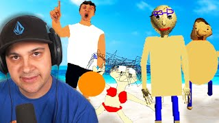 Baldi's not dead... He just went on a swim vacation? | Baldi's Basics
