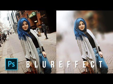 Cara membuat Efek Blur & Bokeh Photoshop - Photoshop Tutorial Indonesia