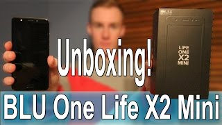 BLU One Life X2 Mini Unboxing! What Is Inside?