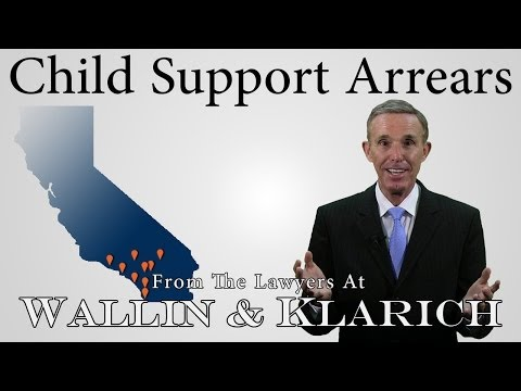 Child Support Arrears