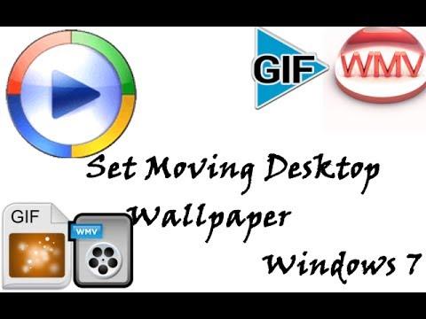 Windows 7- Set Moving Desktop Background [Download included]