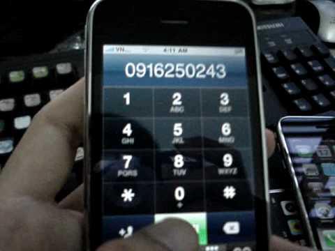 Iphone 3GS unlocked , work with vietnam network