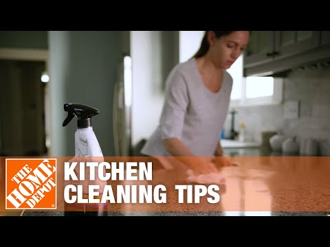 How to Clean a Kitchen | Kitchen Cleaning Tips