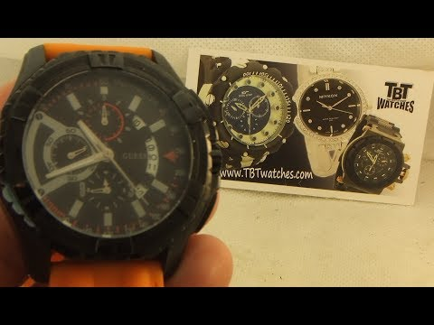 How to change the battery on Guess Watch model number U15060G2