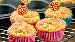 (Eng Sub) Homemade Pizza Muffins  -