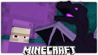 Minecraft: Giant Shulker, Or Ender Dragon?
