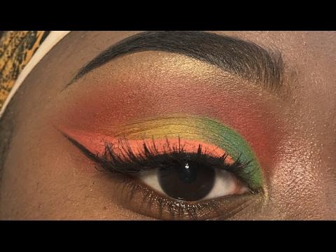 Toucan Sam Inspired Makeup Tutorial