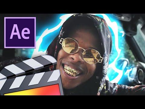Music Video Effects GLOWING ANIMATION! After Effects CC & Final Cut Pro X