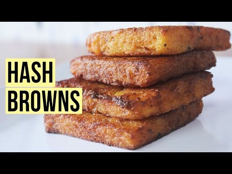 Hash Browns | Pan Fried Potatoes | Kids Special Fast Food Recipe | Kanak's Kitchen