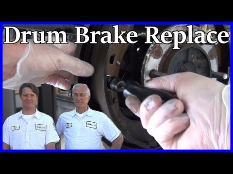 HOW TO REPLACE REAR BRAKE SHOES AND DRUMS - Toyota Tundra 2000-2006