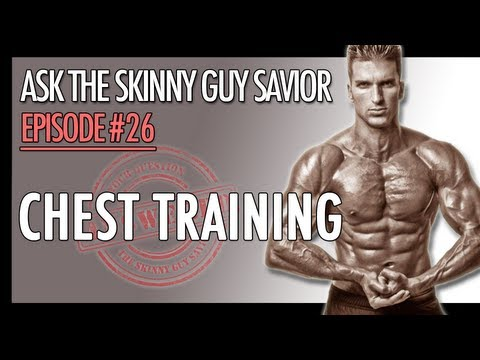 Chest Training - Exercise & Workout TIps For Huge Pecs
