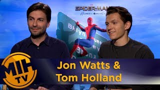 Jon Watts Tom Holland Spider man Homecoming Interview