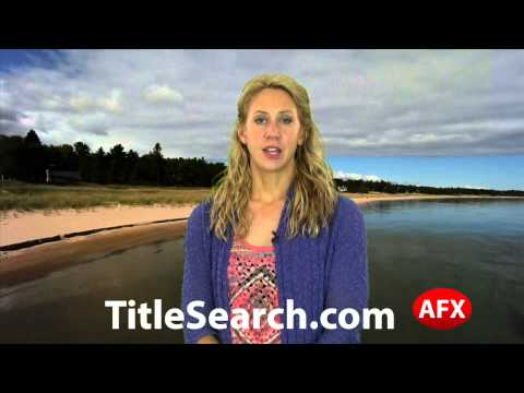 Property title records in Iron County Michigan   AFX