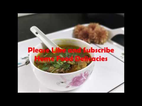 Easy to make Mutton Soup for kids in Tamil/Easy Mutton Soup/How to make Mutton soup Tamil
