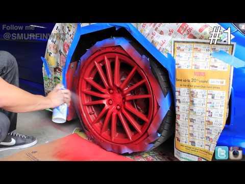 How to add Glossifier on Red Plasti Dip 2011 Subaru WRX