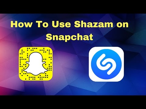 How to Use Shazam on Snapchat!