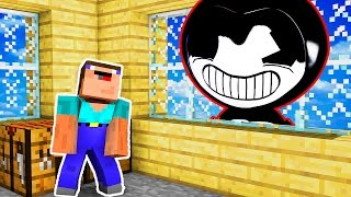 Bendy and the Ink Machine - NOOB V.S BENDY! | Minecraft Trolling Roleplay