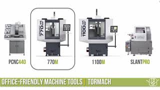 Tormach 770 vs 1100 - Which did i buy?