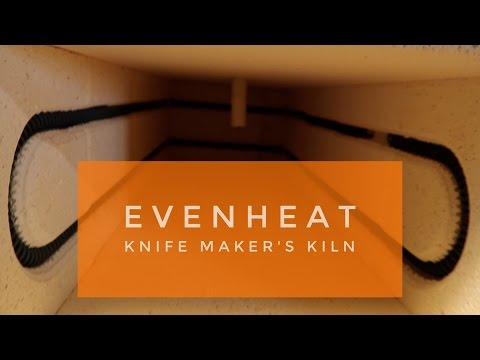Evenheat Knife Maker's Kiln - quick look and how to program it.