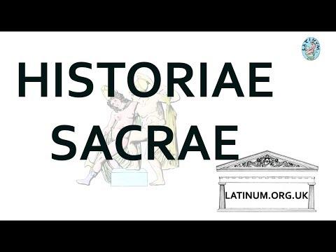 L'Homond's Historiae Sacrae at Latinum