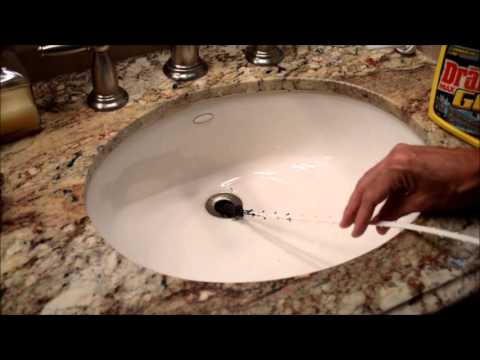 Home Maintenance: Unclog Drain without Chemicals.