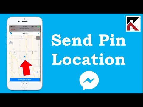 How To Send A Pinned Location Facebook Messenger