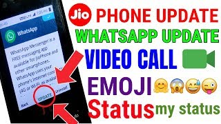Jio Phone Whatsapp Not Opening Problem   Jio Phone Software