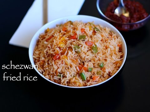 schezwan fried rice | schezuan fried rice with schezwan sauce recipe | chinese fried rice