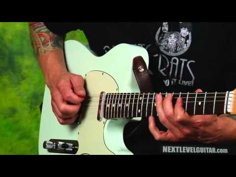 Learn HOT TELE country licks Daniel Donato inspired lead guitar soloing secrets hybrid picking