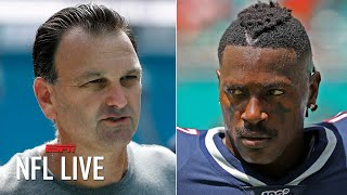 Antonio Brown's agent Drew Rosenhaus terminates their relationship | NFL Live